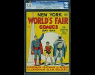 New York World's Fair Comics 1940 CGC 7.5